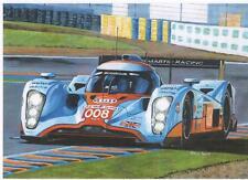 Lola-Aston Martin LMP1, Le Mans 2009 art print