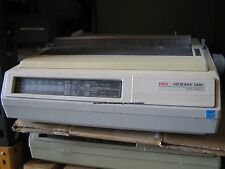 10x OKI Microline ML 3410 240 x 216 dpi 9 pins Dot Matrix Printer - Parallel