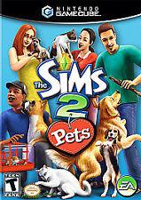 Sims 2 Pets - Gamecube, Good GameCube, GameCube Video Games