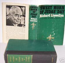 SWEET MORN OF JUDAS' DAY, Richard LLewellyn, HCDJ, 1964