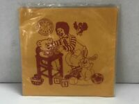 Vintage 1986 Snerd Records McDonalds Neighborhood Texture Jam 45 RPM