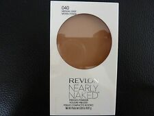 Revlon Nearly Naked Pressed Powder -  MEDIUM DEEP  # 040 - Brand New / Sealed