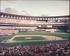 Mark McGwire 70th Home Run St. Louis Cardinals 8x10 Photo With Toploader