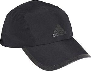 adidas 4CMTE Rain.RDY Mens Running Cap - Black