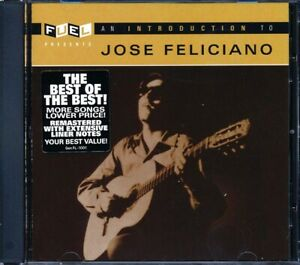 SEALED NEW CD Jose Feliciano - An Introduction To Jose Feliciano