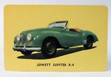 1955 D72 Mothers Cookies JOWETT JUPITER R-4 #10 sports car trading card hi-grade