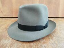 Borsalino 1981 Grey taglia 56 size 6 7/8 perfect condition