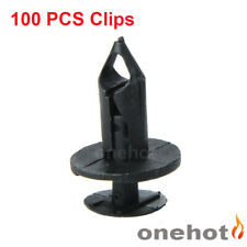 100PCS Clip Bumper Fender Rivet Push Pin Retainer Fastener For Ford Chrysle GM