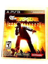 Sony PS3 Def Jam Rapstar Video Game Create Own Rhymes Karaoke Hip Hop singstar