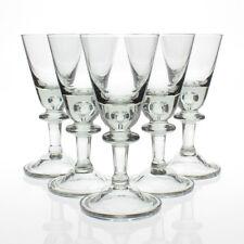 Hadeland - Willy Johansson - 6x 'Tangen' Antique Grey Wine Glasses - 1950s