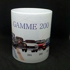 tazza mug PEUGEOT gamme 201,202,203,204,205,206,207,208 scodella ceramica