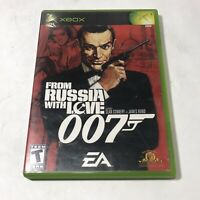 From Russia With Love 007 (Microsoft Xbox) James Bond, Complete w/Case + Manual