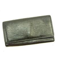 Louis Vuitton Key holder Key case Epi Black Woman Authentic Used Y3536