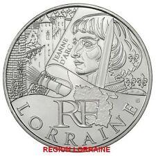 10 Euros des regions lorraine 2012
