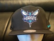 Charlotte Hornets New Mitchell & Ness ADJUSTABLE Snapback Hat Cap FREE SHIPPING!