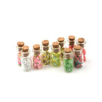 1:12 Mini Fruit Vegetable Bottle Dollhouse Miniature Food Toy Kitchen Decor  Bw