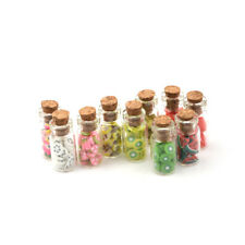 1Pc 1:12 Mini Fruit Vegetable Bottle Dollhouse Miniature Food Toy Kitchen*Decor