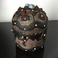 Incroyable Boite Bonbon Chocolat NAPOLEON III XIXè 19thC VICTORIAN Sweet Box