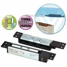 Holding Force 1200KG Electric Magnetic Door Shear Lock Mini Size with Time Delay