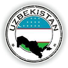 Uzbekistán Sello Sello Pegatina para Coche Camión Portátil Nevera Puerta