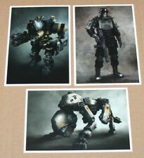 Wolfenstein the New Order tarjetas postales Postcard post card set ps3 ps4 Xbox One 360