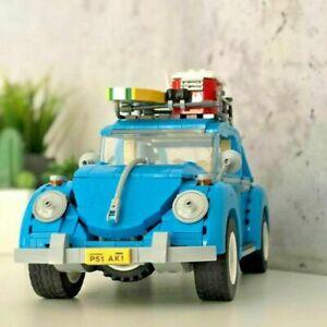 1193PCS Volkswagen VW Beetle City Car Model Education Building Blocks Bricks Set