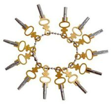 Pocket Watch Winding Key Set 14pc Universal Jewelers Setting Tool NEW $0 SHIP