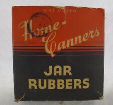Vintage Home Canners Jar Rubbers Design Advertising