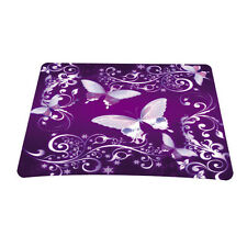 Purple Anti-slip MousePad Gaming Mice Mat For Optical Wireless Laser Mouse