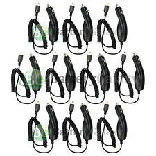 10 NEW Battery Car Charger for Garmin Nuvi 200 205W 200W 760 750 1490 1490T HOT!