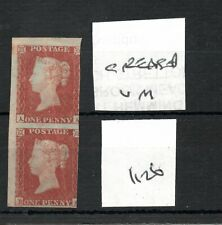 GB - Victoria (1126)  Penny red imperf - pair - mint - SG Cat £1200 see scans