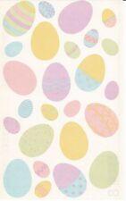 Mrs. Grossman's Giant Stickers - Vellum Easter Eggs - Decorated Egg - 2 Strips