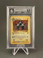 Magneton Shadowless - Base Set Holo 8/102 -  Graded BGS 8.5 - Pokemon NM-MT+