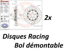 JEU DE 2 DISQUES RACING 2 PARTIES BREMBO 355 x 32mm OPEL ASTRA J GTC 2.0 280ch