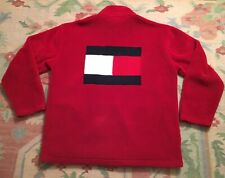 Vintage Tommy Hilfiger Fleece Big Flag XL