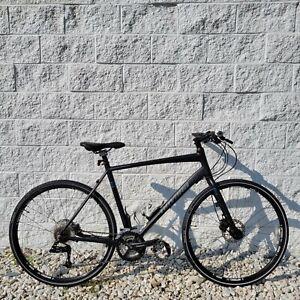 """Novara Big Buzz Performance Fitness Hybrid Bike w/ Hydro Disc 22"""" Frame 27 Speed"""