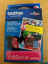 Genuine BROTHER LC65HY- M High Yield LC65 Magenta Ink Cartridge for MFC- 5895CW