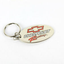 Original Chevrolet Racing Bowtie Muscle Car Schlüsselanhänger Anhänger Chrom NEU