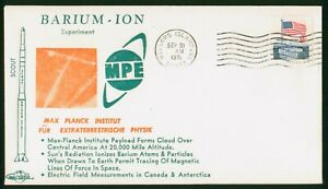 Mayfairstamps US Space 1971 Barium Ion Experiment Wallops Island VA Cover wwr145