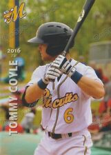 2016 Montgomery Biscuits Tommy Coyle RC Rookie Rays Minor
