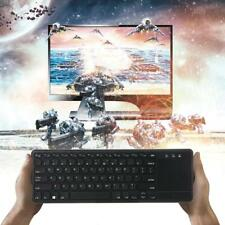 2.4G Wireless Touchpad Tastiera Keyboard per Smart TV Android PC Laptop Computer