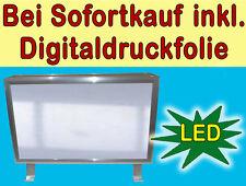 Leuchtreklame 800x300 Nasenschild mit LED Leuchtschild Leuchtkasten Ausleger