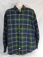 Ralph Lauren Heavy Duty Cotton Long Sleeve Button Plaid Shirt Men's XL