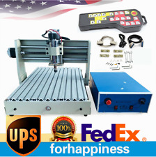 4axis 3040 Cnc Router Engraver Wood Engraving Milling Machine 400w Withcontroller