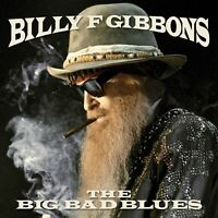 Billy F Gibbons THE BIG BAD BLUES +MP3s LIMITED New Hot Rod Red Colored Vinyl LP