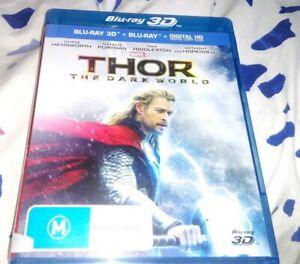 Thor - The Dark World 3D/2D Blu ray Digital Copy Plus