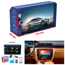 "7"" 2 Din Car GPS MP5 MP3 Radio Player No-DVD/CD Bluetooth w/Map Of North America"