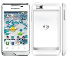 Nuevo Motorola Motoluxe XT389 pizarra Android Desbloqueado WIFI Teléfono inteligente Blanco