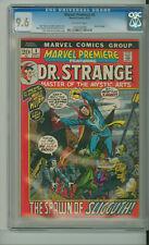 MARVEL PREMIERE 4 CGC 9.6 MARQUEE cover RARE in GRADE DOCTOR STRANGE MARVEL 1972