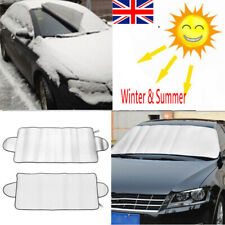 Winter Snow Ice Sun Shade Dust Frost Freezing Car Windshield Cover Protector UK